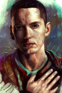 640x960 Eminem Fanart