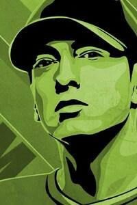 1125x2436 Eminem MInimalism