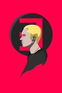 2160x3840 Eminem Red Minimal 4k