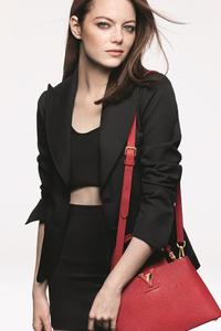 Emma Stone Louis Vuitton Campaign