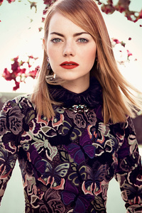 Emma Stone Photshoot For Vogue