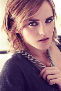 Emma Watson Looking At Viewer