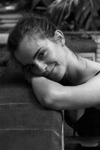 Emma Watson Monochrome 2017