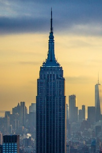 1125x2436 Empire State Building Skycrapper In New York