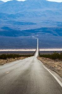 480x800 Empty Straight Road 4k 5k
