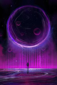 2160x3840 Energy Sphere