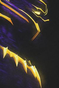 1280x2120 Erik Killmonger Artwork 4k