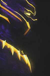 Erik Killmonger Black Panther Art 4k