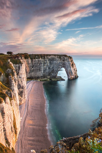 Etretat Normandie France 5k