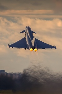 1280x2120 Eurofighter Typhoon Hd