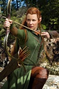 480x854 Evangeline Lilly In Hobbit