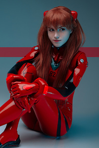 Evangelion Asuka Anime Girl Cosplay
