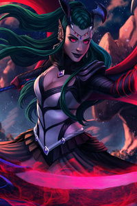 320x568 Evelyn Fantasy Witch 5k