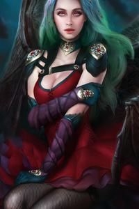 640x960 Evelynn Fantasy Art 5k