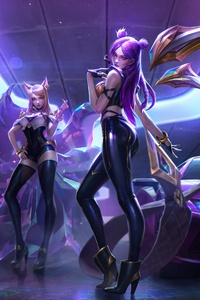 Evelynn KaiSa Ahri Akali League Of Legends 4k