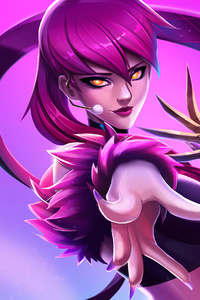 1080x1920 Evelynn League Of Legends Art 4k