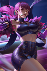Evelynn League Of Legends Game 4k