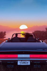 1080x2280 Evening Date Place Car Ride 4k