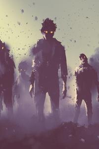 360x640 Evil Zombie Concept Art