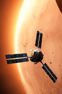 1440x2560 Explorer In Space