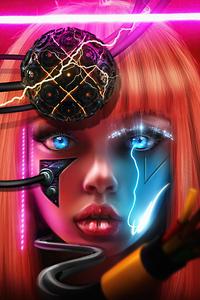 1080x2280 Eyes Formation Scifi