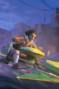 2160x3840 Ezra Bridger A Illustration For Star Wars Destiny
