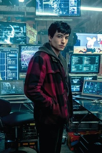 Ezra Miller As Flash Justice League
