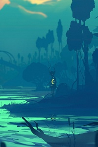 1242x2688 Fabulous Swamps