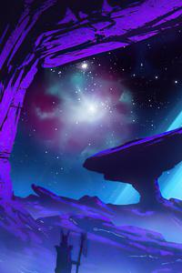 1440x2560 Fairy Sky 5k