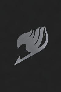 360x640 Fairy Tail Anime Logo 5k