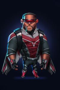Falcon Avengers Minimal 8k