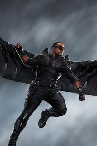 Falcon From Avengers Infinity War 5k