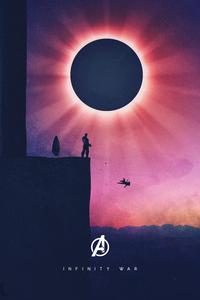 Falling Gamora