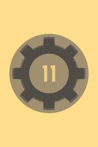 Fallout 3 Vault 11 Minimal 5k