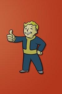 320x480 Fallout Boy Minimalism