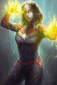 Fan Art Captain Marvel