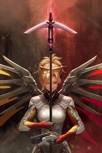 Fan Art Of Mercy Overwatch