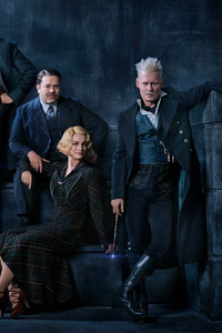 2160x3840 Fantastic Beasts The Crimes Of Grindelwald 2018 Cast