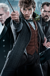 640x1136 Fantastic Beasts The Crimes Of Grindelwald Movie New Poster