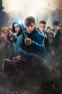 640x1136 Fantastic Beasts The Crimes Of Grindelwald Movie Poster