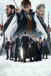 1080x2160 Fantastic Beasts The Crimes Of Grindlewald New Poster