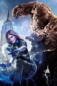 640x960 Fantastic Four Poster