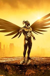 Fantasy Angel Gold Digital Art 5k