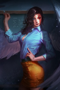 Fantasy Angel Teacher