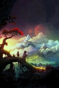 Fantasy Art Colorful