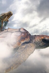 Fantasy Art Turtle