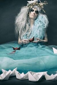 Fantasy Art Women Ships