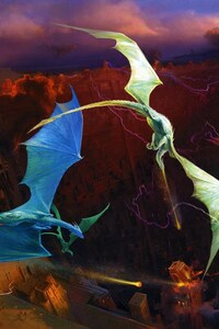 720x1280 Fantasy Dragon