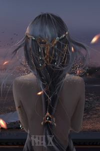 Fantasy Girl Art
