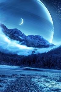 240x320 Fantasy Landscape 4k